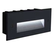 Светодиодный светильник Feron LN012 встраиваемый 5W 4000K, IP65, черный