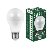 Лампа светодиодная SAFFIT SBA6020 Шар E27 20W 4000K